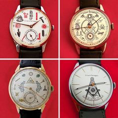 These vintage Girard Perregaux masonic watches will definitely grab your attention. Not only do they look spectacular, but they also have that Freemasonry mystery surrounding its design.