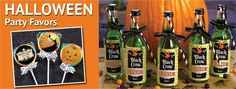 Halloween favors are a fun way to thank guests for attending your party or to pass out sugar-free treats on Halloween night. Check out personalized Halloween favors.