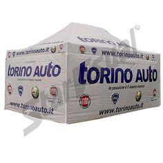 Starvisual Gazebo personalizzato con pareti - Torino Auto
