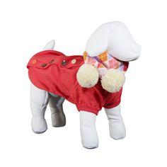 Cardigan Dear Dog Vermelho - Tamanho 02. #roupaparacachorro #roupinhaparacachorro #cachorro #petmeupet #petshop #petshoponline #filhode4patas #maedepet #maedecachorro #paidecachorro #roupinha #