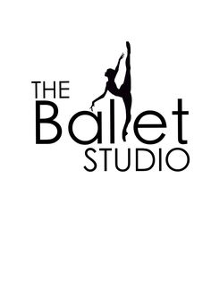 This is a logo used for The Ballet Studio in Murrieta California