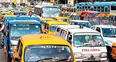 #Traffic jam in #Kolkata for #TMCrally