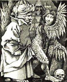 Fitcher's Bird, Maurice Sendak