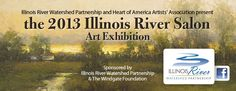 Join us at the 2013 Illinois River Salon Art Exhibit:  September 30 - October 2 Artwork will be on display at Compton Gardens in Bentonville, Arkansas;     October 2 Opening reception 6-8pm at Compton Gardens. Open to public. Wine and cheese. Awards announced. Artists will be in attendance. Bentonville Arkansas, Heart Of America, Salon Art, October 2, Attendance, Exhibit, Illinois, Salons, Awards