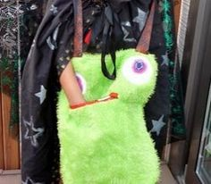 Hungry Monster Treat Bag