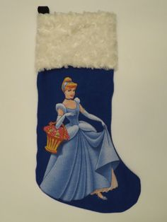 Cinderella Christmas Stocking