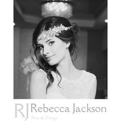 Bridal Headband / Headpiece 'Harriet' by Rebecca Jackson, Bespoke