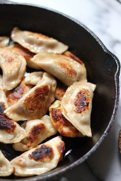 Italian Sausage, Pepper, and Onion Dumplings- Some of the most amazing dumplings ever! We loved the mix between Asian and Italian food. I followed recipe as is and it made so much that I froze a whole bunch too. We'll see how those taste later.