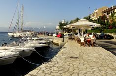 Kassiopi Harbour in Corfu