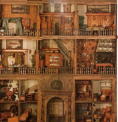 Stromer House One of the oldest known intact doll houses is in the Germanisches National Museum, Nuremberg, Germany. Known as the Stromer House, because it was presented to the museum by Baron von.