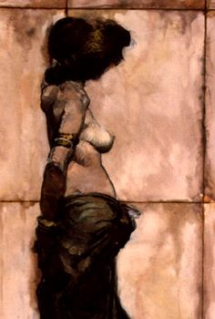 jeffrey jones: the wall, detail Comic Books Art, Comic Art, Jeff Jones, Art Through The Ages, Modern Portraits, Illustration Artists, Sci Fi Art, Red Poppies, Figure Painting