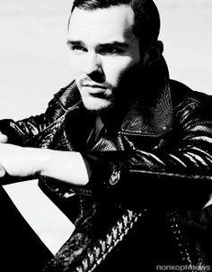 Николас Холт в журнале VMAN #31. Весна / Лето 2014