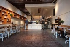 The Mill | Western Addition, SF. Coffee & cinnamon toast in the mornings. =)