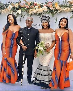 African Traditional Wedding, African Traditional Dresses, Traditional Outfits, African Inspired Fashion, Africa Fashion, Emo Dresses, Party Dresses, Fashion Dresses, Xhosa Attire