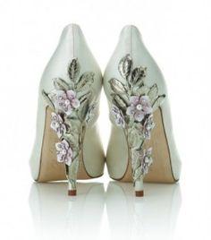 Harriet Wilde's wedding shoe designs