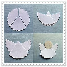 Angels for christmas cards