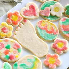 DIY Painted Sugar Cookies - an easy and fun treat to make with the kids!