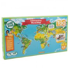 Leap Frog Tag World Map The age is from around 4 DD had this at 2.5 yrs