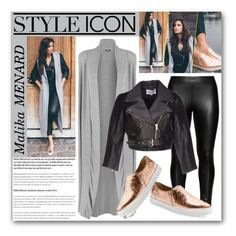 """""""Style Icon : Malika MÉNARD"""" by drinouchou ❤ liked on Polyvore featuring WearAll, Studio, American Retro, ElevenParis, women's clothing, women's fashion, women, female, woman and misses"""
