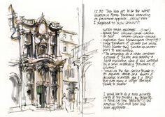Sketchbook - Watercolor & Pen