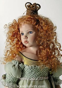 *DOLL ~ by: Hildegard Gunzel Collectible Dollsn  Love the costume!