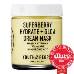 Youth To The People- Superberry Hydrate + Glow Dream Mask with Vitamin C
