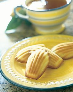 Earl Grey Tea Madeleines with Honey. Awesome flavor. Discovered I don't like madeleines' texture.