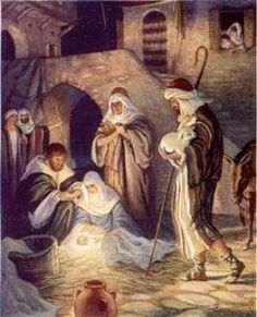 The birth of our Savior Jesus Christ! The whole reason for the meaning of Milo Winter - Nativity Scene