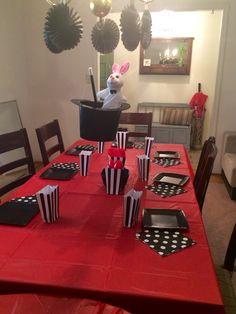 Magic theme birthday party decor ideas