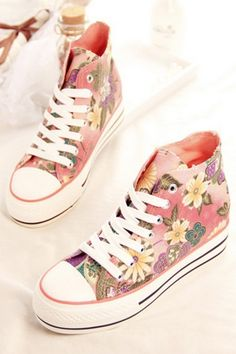 10 Ideas On How To Wear Floral Shoes Like a Lady