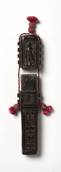 Pen case and lid - Italy, circa 1500-1520