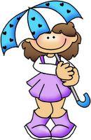 thistle girl clipart