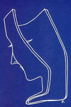 """Gio Ponti - """"a drawing is an idea"""" - ca.1950"""