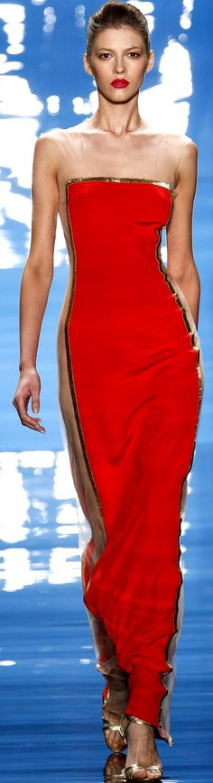 Reem Acra - Spring/Summer 2013 ♥✤ | Keep the Glamour | BeStayBeautiful