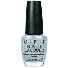 OPI Pirouette My Whistle Nail Lacquer (€6,27) ❤ liked on Polyvore featuring beauty products, nail care, nail polish, nails, makeup, beauty, accessories, silver, opi nail polish and opi