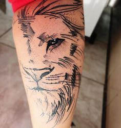 my 6ª tattoo - lion