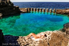 El Charco Azul, La Palma, Islas Canarias,  Spain. Photo by Damian Martin Brito on 500px