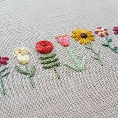 Wonderful Ribbon Embroidery Flowers by Hand Ideas. Enchanting Ribbon Embroidery Flowers by Hand Ideas. Hand Embroidery Stitches, Crewel Embroidery, Silk Ribbon Embroidery, Embroidery Techniques, Cross Stitch Embroidery, Embroidery Ideas, Simple Embroidery Designs, Border Embroidery, Embroidery Flowers Pattern
