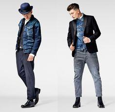 G-Star RAW 2013-2014 Winter Mens Lookbook: Designer Denim Jeans Fashion: Season Collections, Runways, Lookbooks and Linesheets