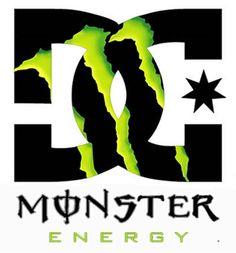 dc monster energy photo by Monster Energy, Phone Wallpaper For Men, Smile Wallpaper, Fox Racing Logo, Love Monster, Marken Logo, Funny Signs, Energy Drinks, Superhero Logos