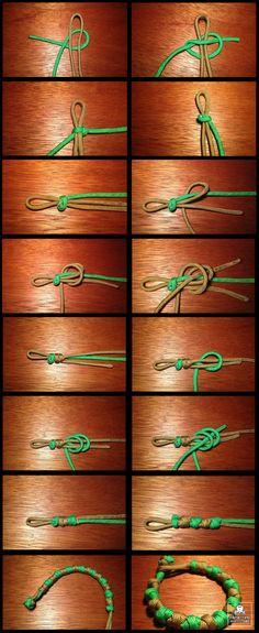 how to make a prayer bead bracelet