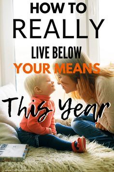 This is going to be the year I learn to live below my means. It will save us so much and can save you too. #debtfree #finances #debt #frugal #frugalliving