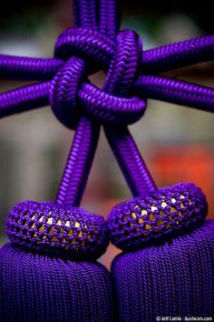 Purple Knot - Fushimi Inari Shrine, Kyoto