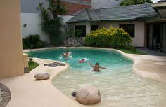 piscinas de arena - Buscar con Google