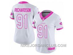 http://www.nikejordanclub.com/womens-nike-new-york-jets-91-sheldon-richardson-white-pink-stitched-nfl-limited-rush-fashion-jersey-tsyfx.html WOMEN'S NIKE NEW YORK JETS #91 SHELDON RICHARDSON WHITE PINK STITCHED NFL LIMITED RUSH FASHION JERSEY TSYFX Only $23.00 , Free Shipping!