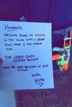 What I'd do with my husband