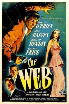 'The Web', 1947, Edmond O'Brien and Ella Raines