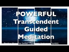 10 Minute TRANSCENDENT GUIDED MEDITATION | POWERFUL | works instantly