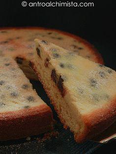 Torta Rovesciata alla Ricotta e Gocce di Cioccolato - Cake with Ricotta Cheese and Chocolate Chips