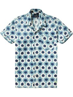 050e6c6b Now available: All-Over Printed Hawaii Collar Shirt Scotch & Soda
